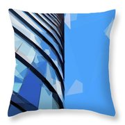Turning The Corner - The Skywards Series Throw Pillow