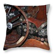 Turnpike Cruiser Throw Pillow