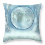 Turquoise Dream Throw Pillow