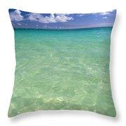 Turquoise Ocean Throw Pillow