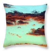Turquoise Trail Throw Pillow