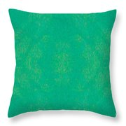 Turquoise Transitions Abstract Design Art By Omaste Witkowski  Throw Pillow