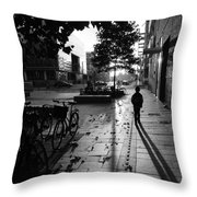 Tuesday Morning Throw Pillow