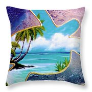 Turtle Bay #144 Throw Pillow