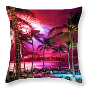 Turtle Bay - Independence Day Throw Pillow