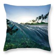 Turtle Split Throw Pillow