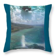 Turtle Vision Throw Pillow