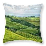 Tusacny Hills I Throw Pillow