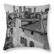 A Window To Tuscany Throw Pillow