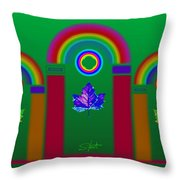 Tuscan Equinox Throw Pillow