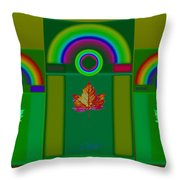 Tuscan Green Throw Pillow