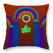 Tuscan Heat Throw Pillow