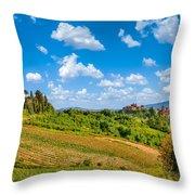 Tuscan Idyll  Throw Pillow