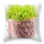 Tuscan Lion Throw Pillow