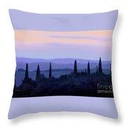 Tuscan Morn Throw Pillow