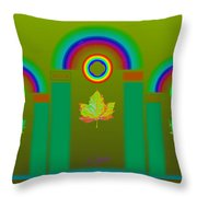 Tuscan Olive Throw Pillow