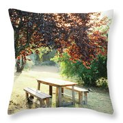 Tuscan Picnic Throw Pillow