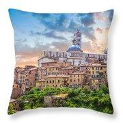 Tuscan Romance  Throw Pillow