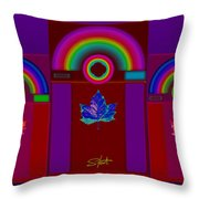 Tuscan Storm  Throw Pillow