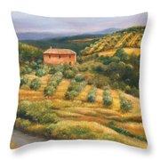 Tuscan Summer Throw Pillow