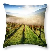 Tuscan Sunrise Throw Pillow