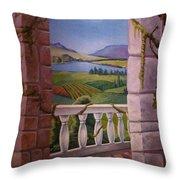 Tuscan Terrace  Throw Pillow