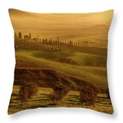 Tuscan Villa Throw Pillow