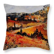 Tuscany 56n Throw Pillow
