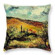 Tuscany 67 Throw Pillow