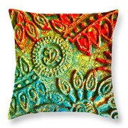 Tuscany Batik Throw Pillow