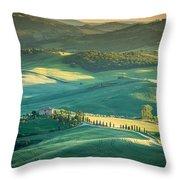 Tuscany Sunset Throw Pillow