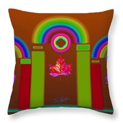 Tuscon Autumn Throw Pillow