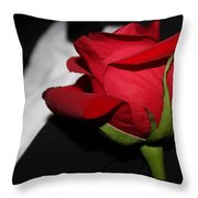 Tuxedo Boutonneire Throw Pillow