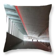Tv Tower Exit Throw Pillow