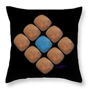Tv World Throw Pillow