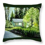 Twaine Harte Throw Pillow