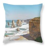 Twelve Apostle Port Campbell National Park Throw Pillow