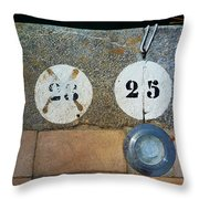 Twenty Five Throw Pillow