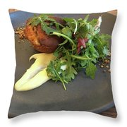 Twice Baked Binham Blue Cheese & Walnut Throw Pillow