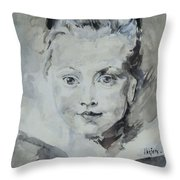 Twiggy Baby Throw Pillow