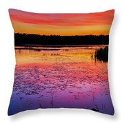 Twilight Afterglow #1 Throw Pillow