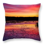 Twilight Afterglow #2 Throw Pillow