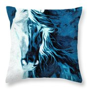 Twilight At Alcalde Throw Pillow