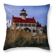 Twilight At East Point Throw Pillow