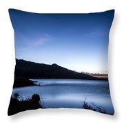 Twilight At Klondike Lake Throw Pillow
