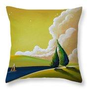 Twilight Bay Throw Pillow