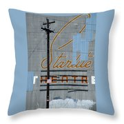 Twilight For Starlite Throw Pillow