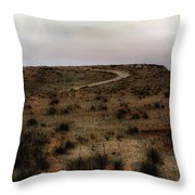 Twilight Grasslands Throw Pillow