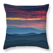 Twilight. Throw Pillow by Itai Minovitz