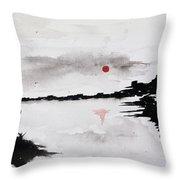Twilight Journey I Throw Pillow